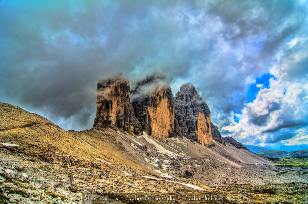 Tre Cime in the Italian Alps