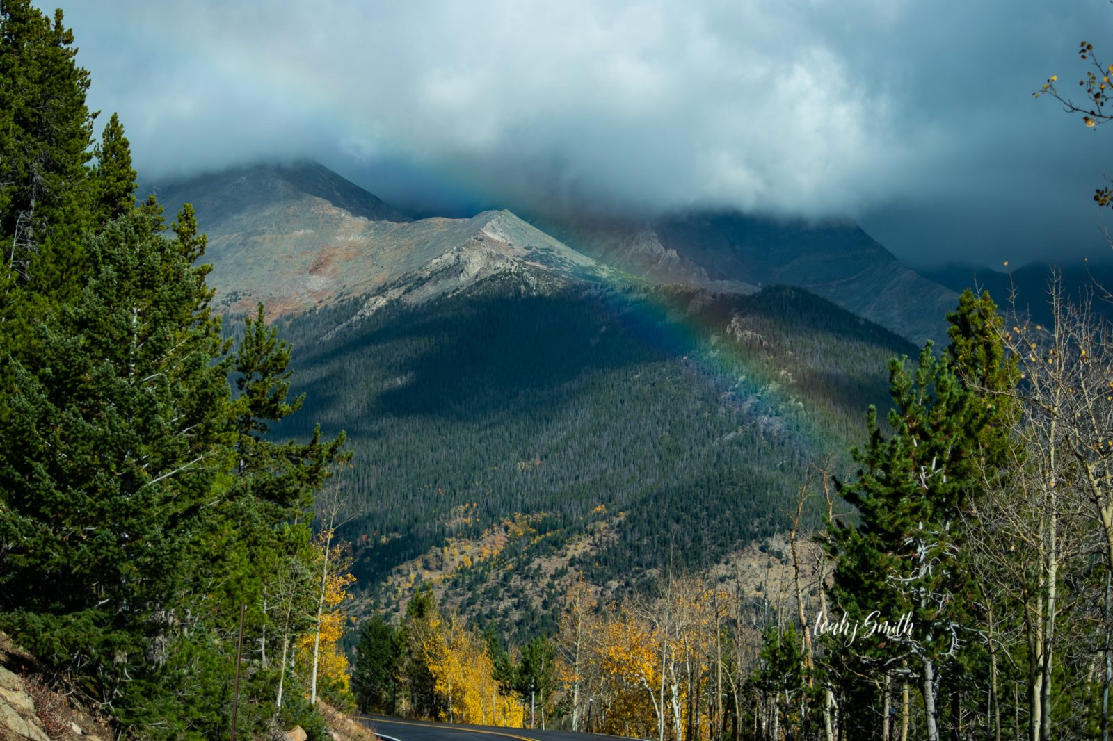 Rainbow In The Rockies