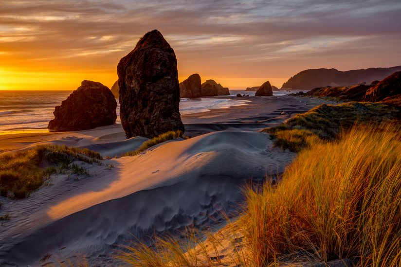 Golden Hour On the Oregon Coast