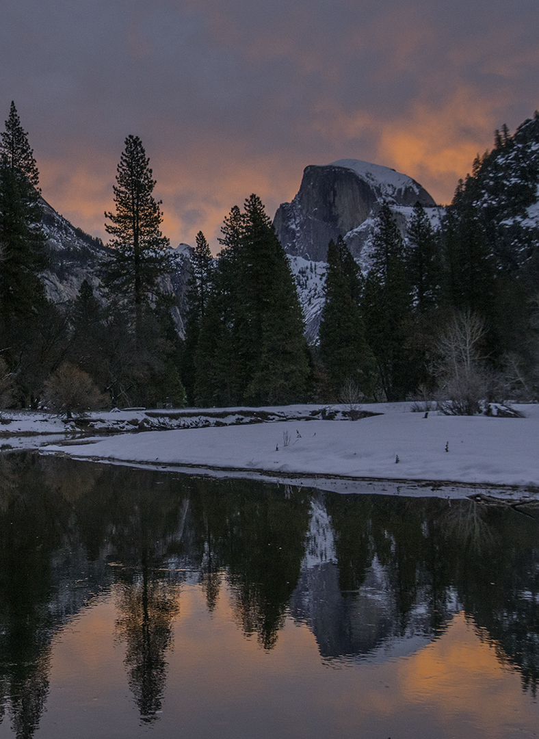 Sunrise Yosemite