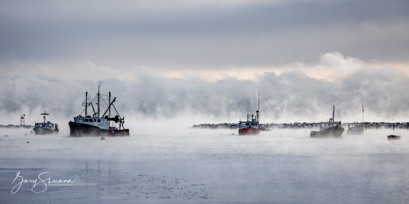 Rye Harbor Sea Smoke