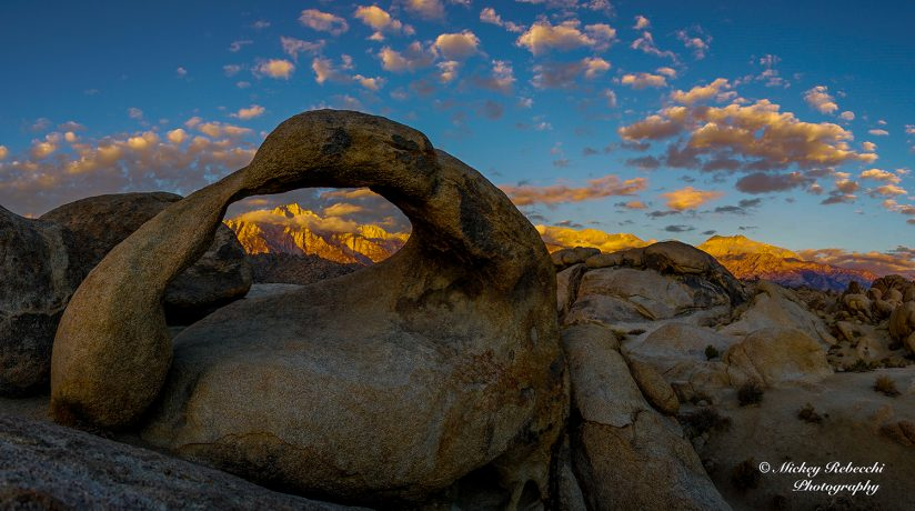 Sunrise Alabama Hills