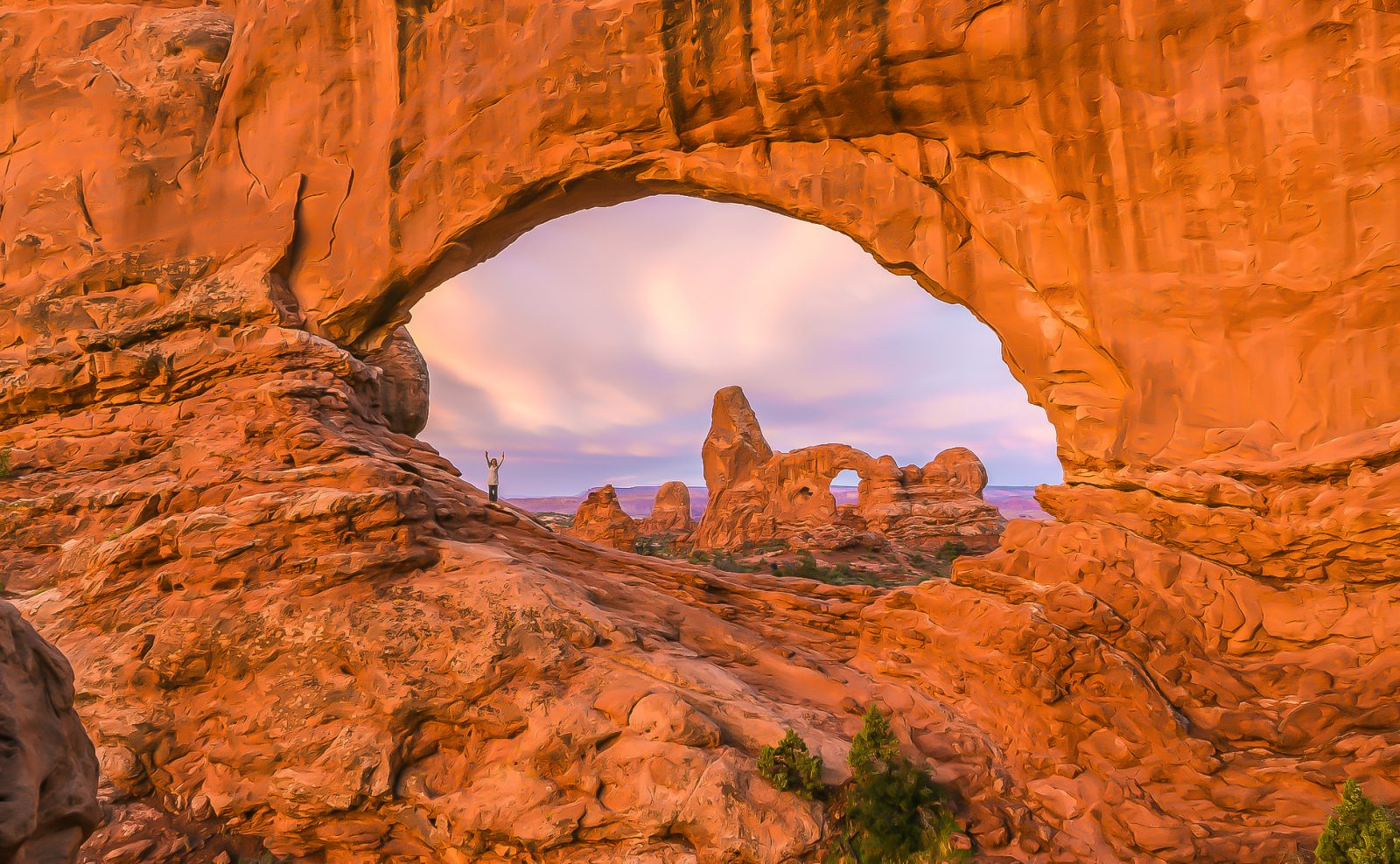 Scaling Turret Arch