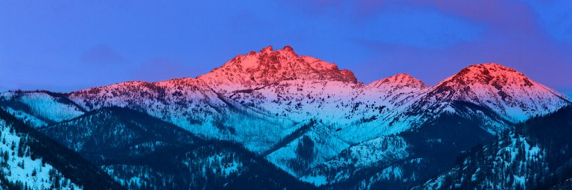Sun Mountain Alpenglow