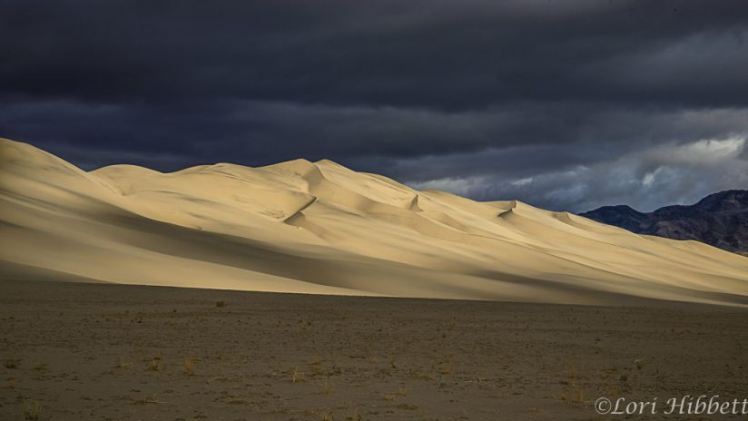 Incoming Storm over the Dunes