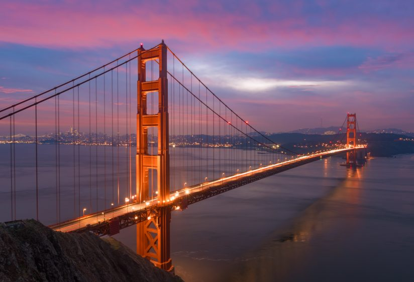 Golden Gate Bride – Blue Hour