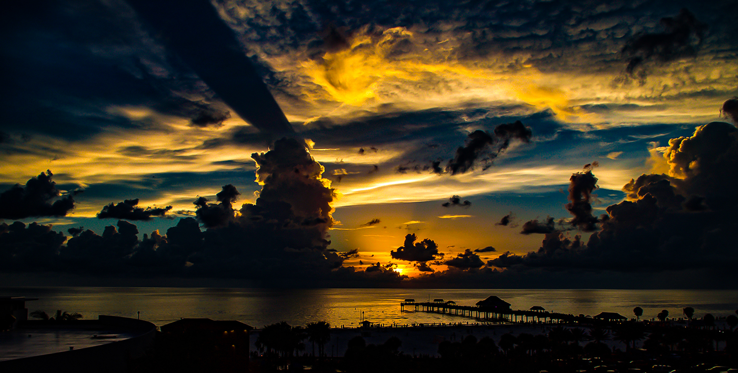 A Clearwater Sunset