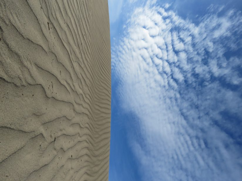 Sand and Sky Similitude