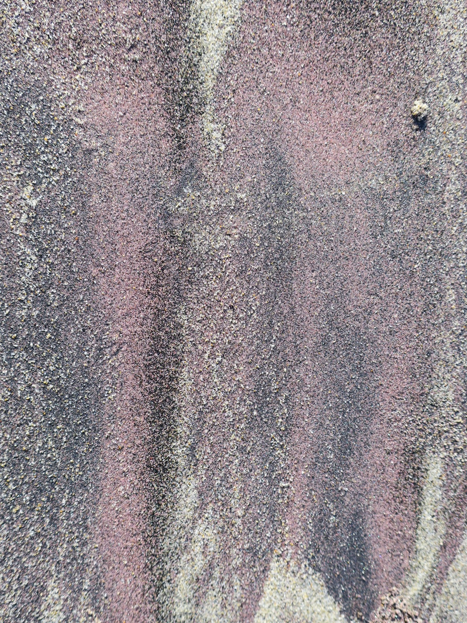 Purple Sand Abstract