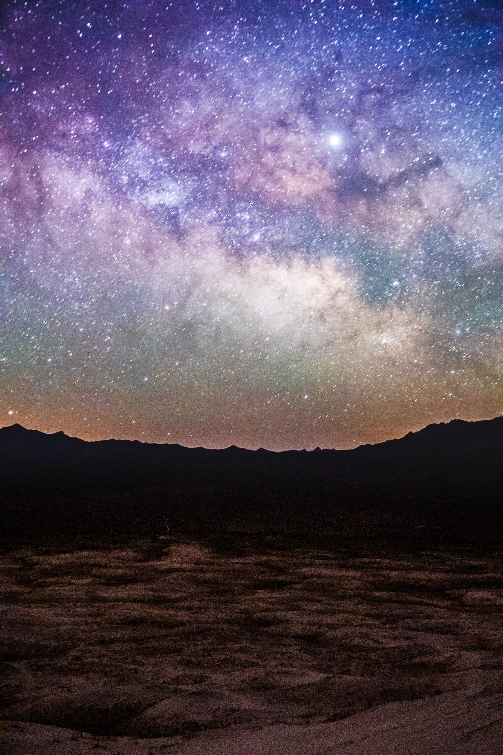 Mojave stars over Kelso dunes