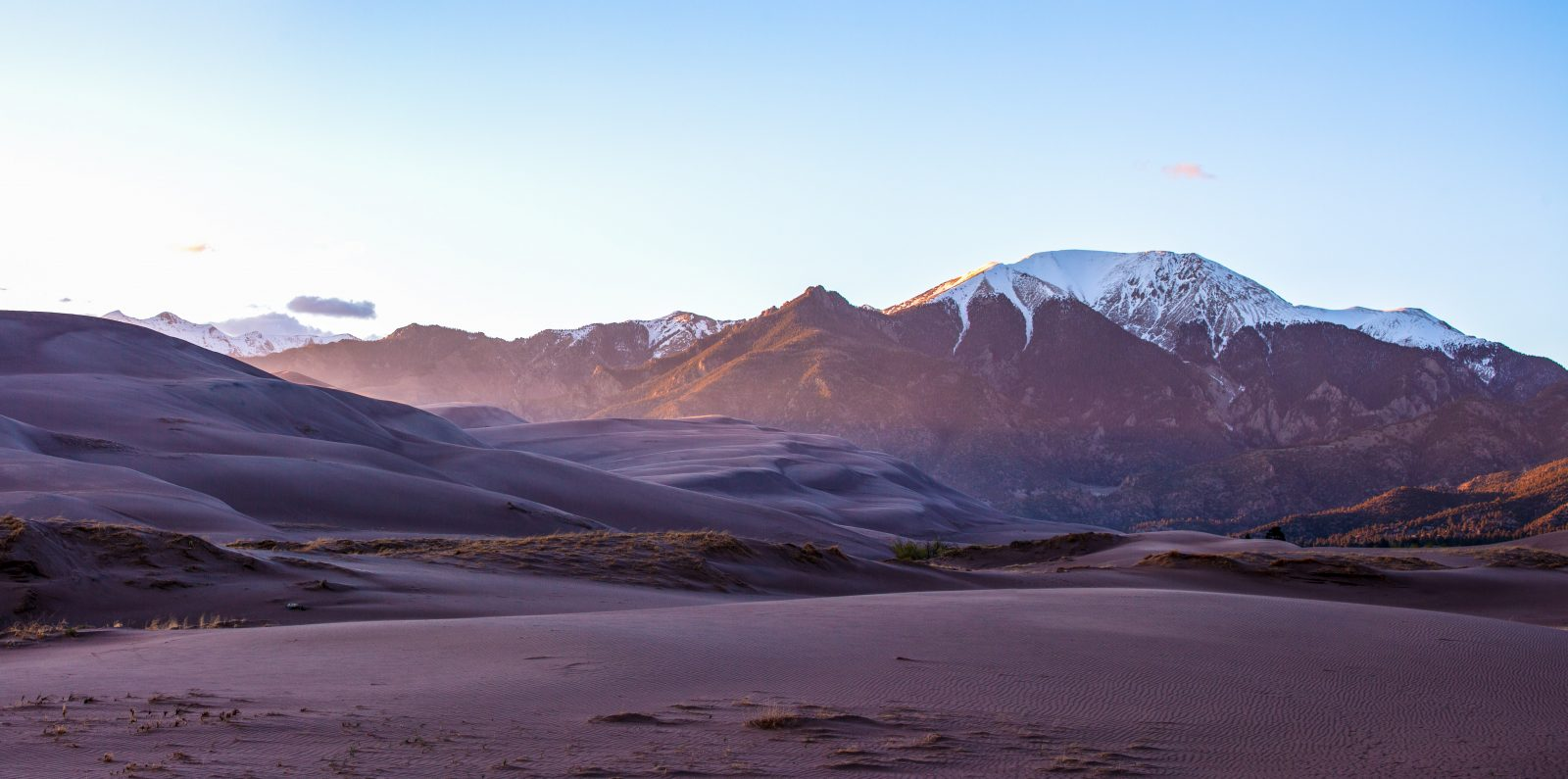 Sunset At The Great Sand Dunes