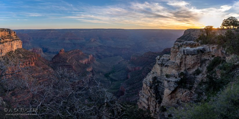 Canyon Sunrise Panoramic