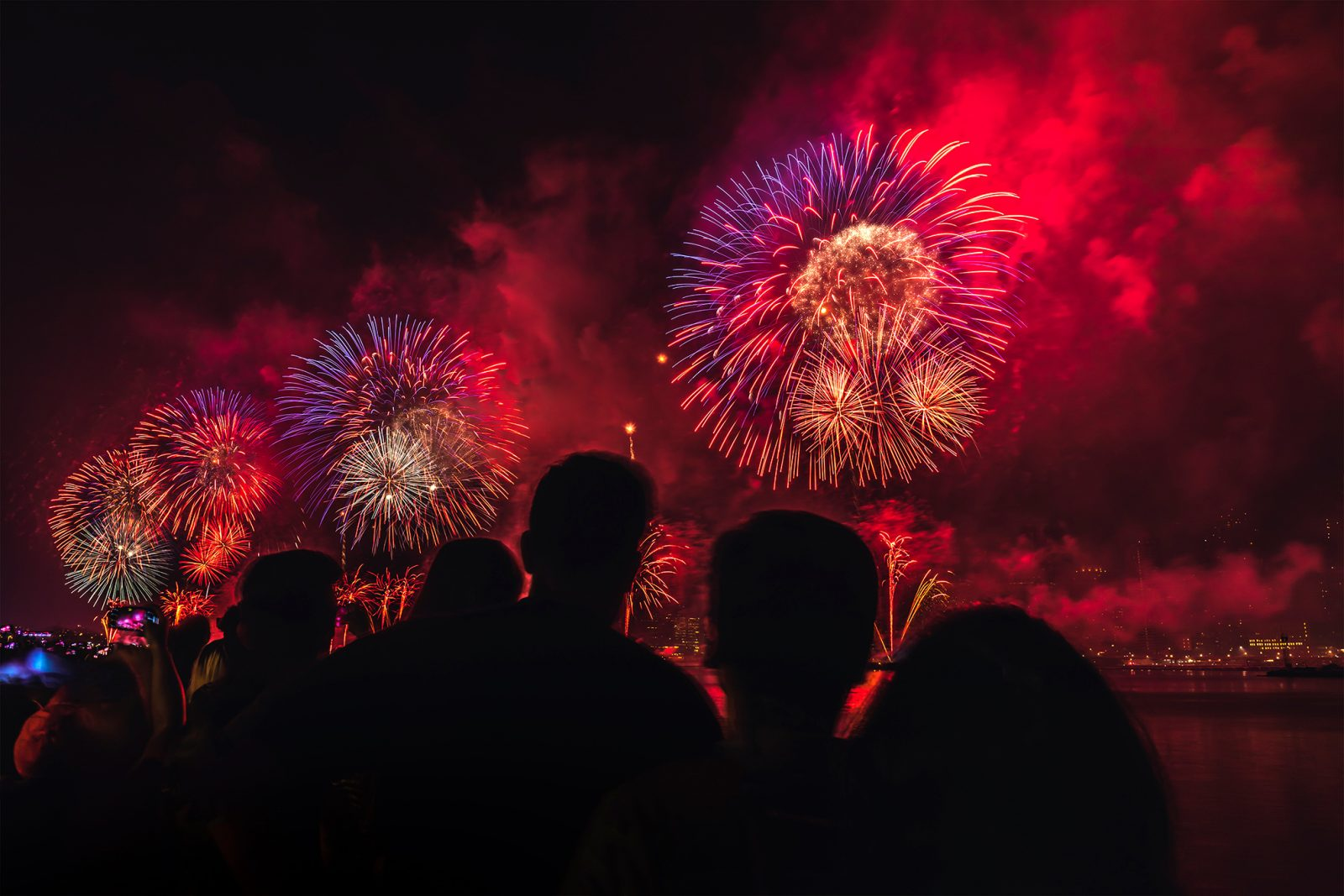 2018 4th of July Fireworks in NYC