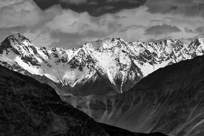 Karakoram mountain range