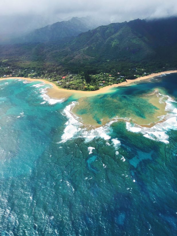 Kauai Coast By Air