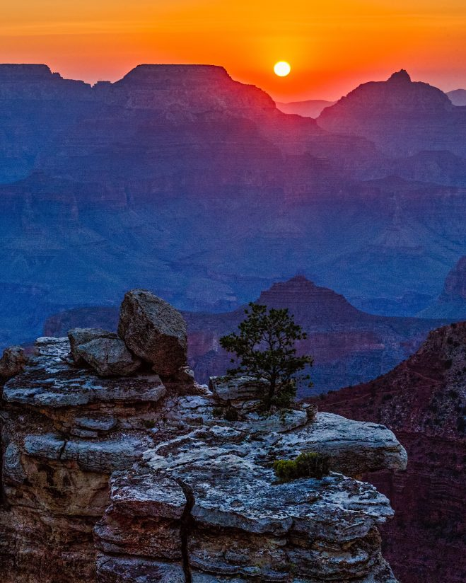 Early Morning at the Grand Canyon