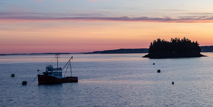 Twilight in Lubec