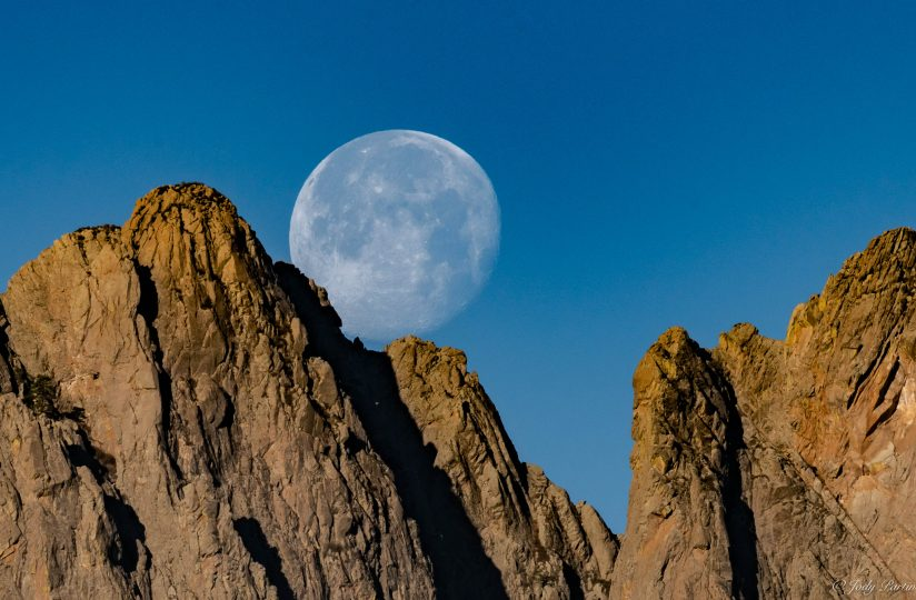 Organ Mountains Moonset