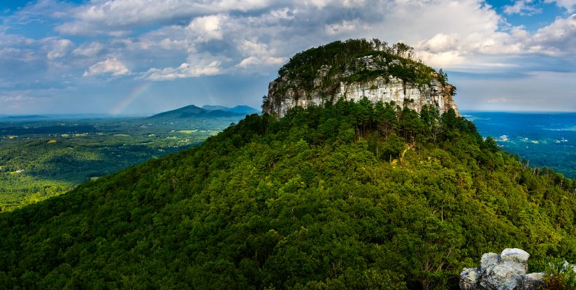 Pilot Mountain Pano