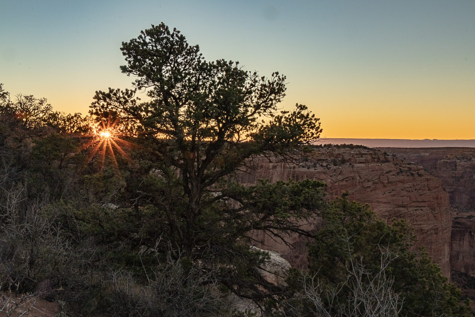 Sunset in Canyon de Chelly