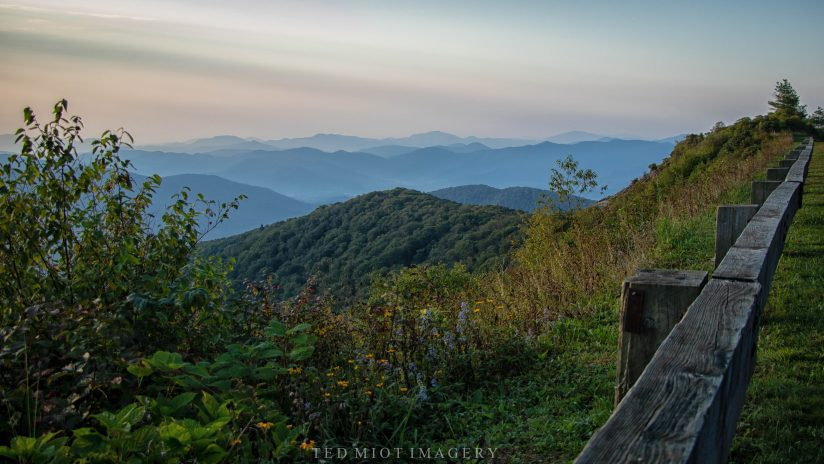 Graybeard Overlook at Sunrise