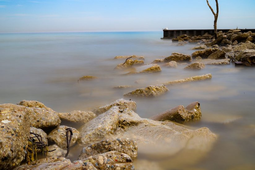 Long Exposure Lake Michigan 2