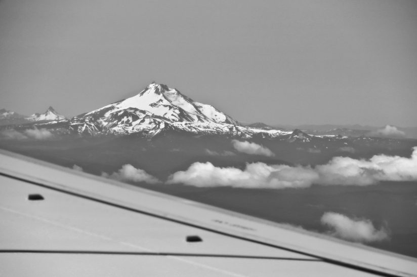 Mt. Hood, from 10,000 feet