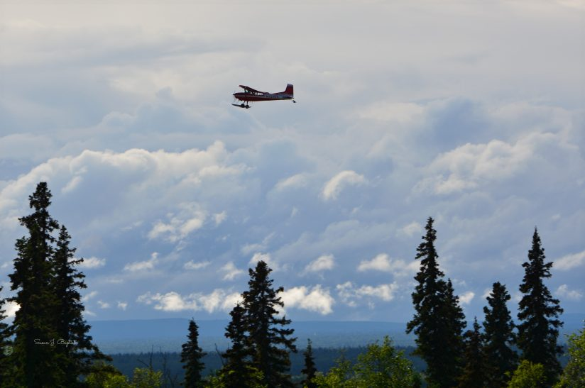Ski Plane Over Talkeetna