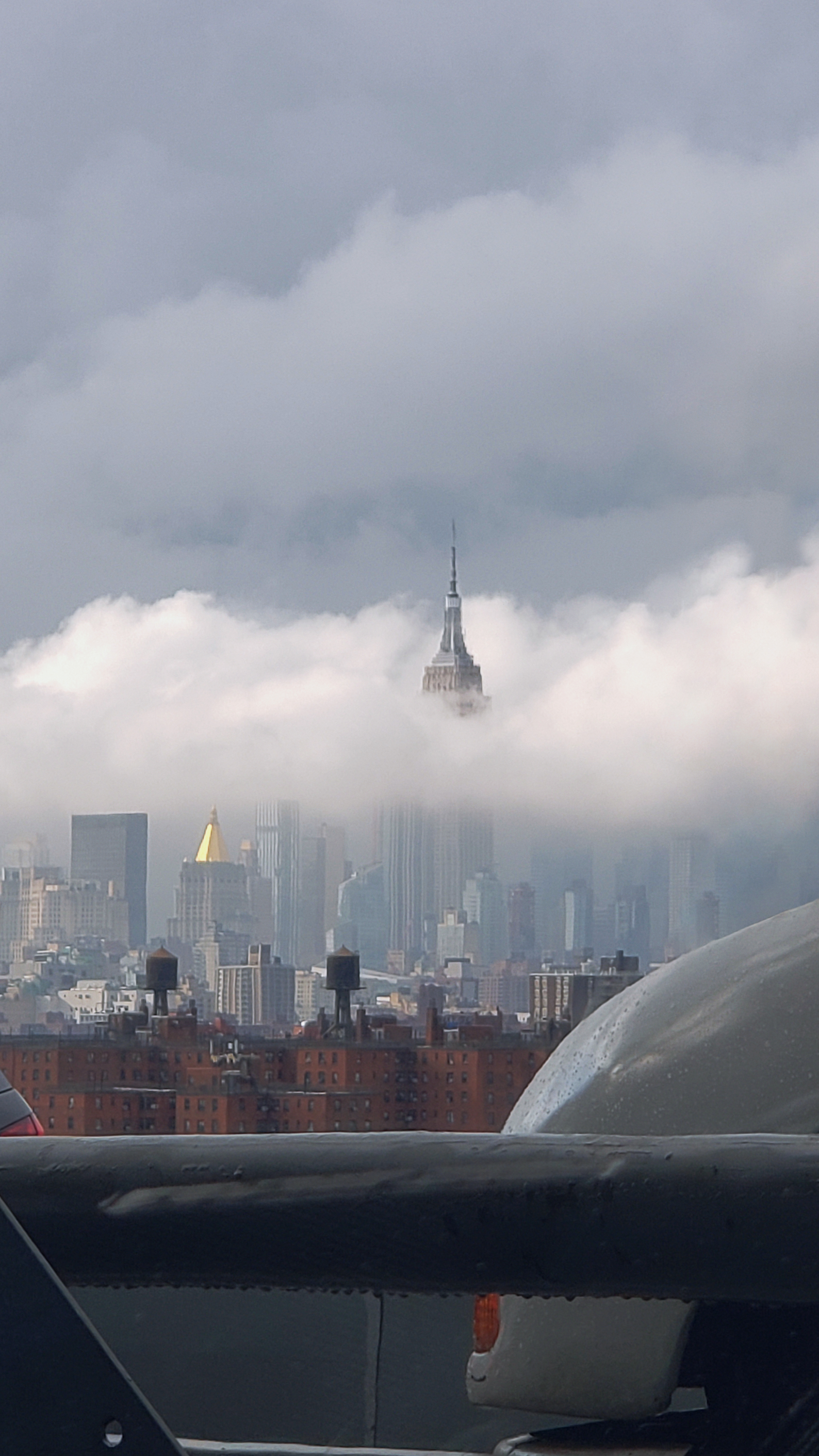 The Empire State Building Above Clouds
