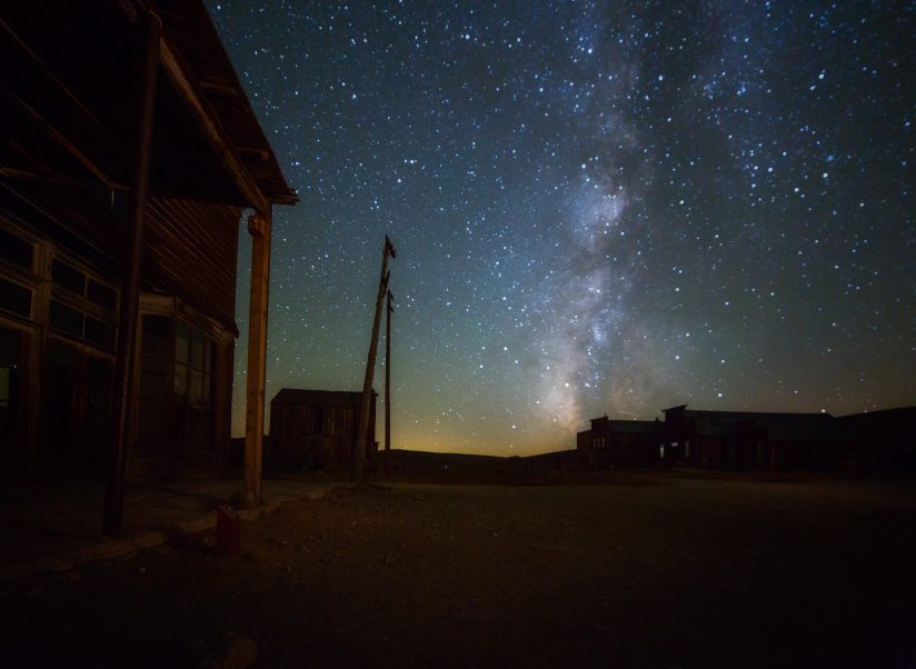 Night Sky in Ghost Town