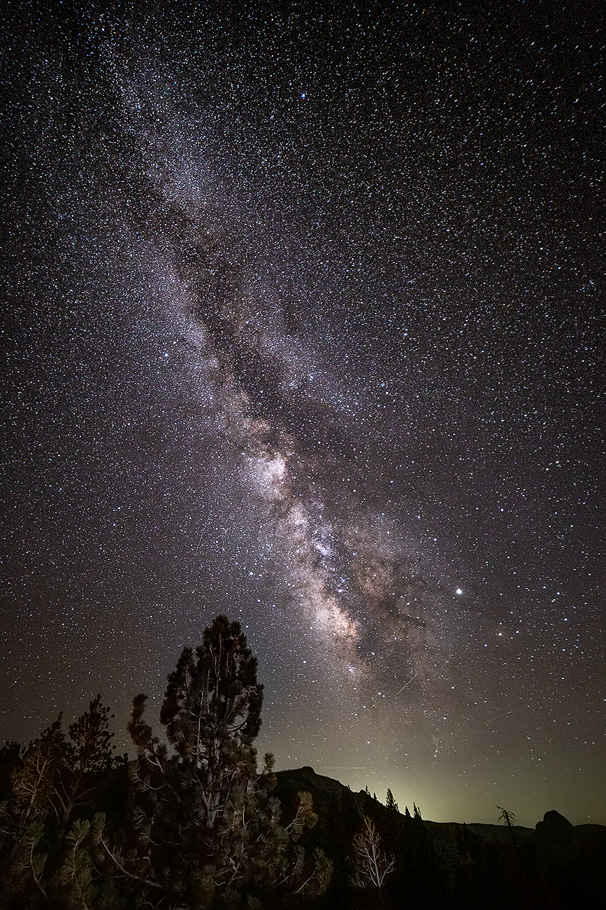 Starry Night Above Yosemite