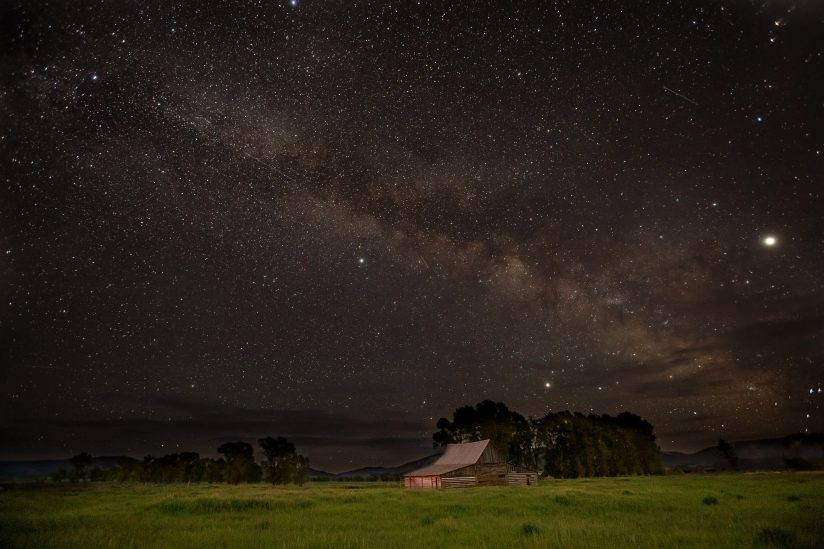 Milky Way at Barn