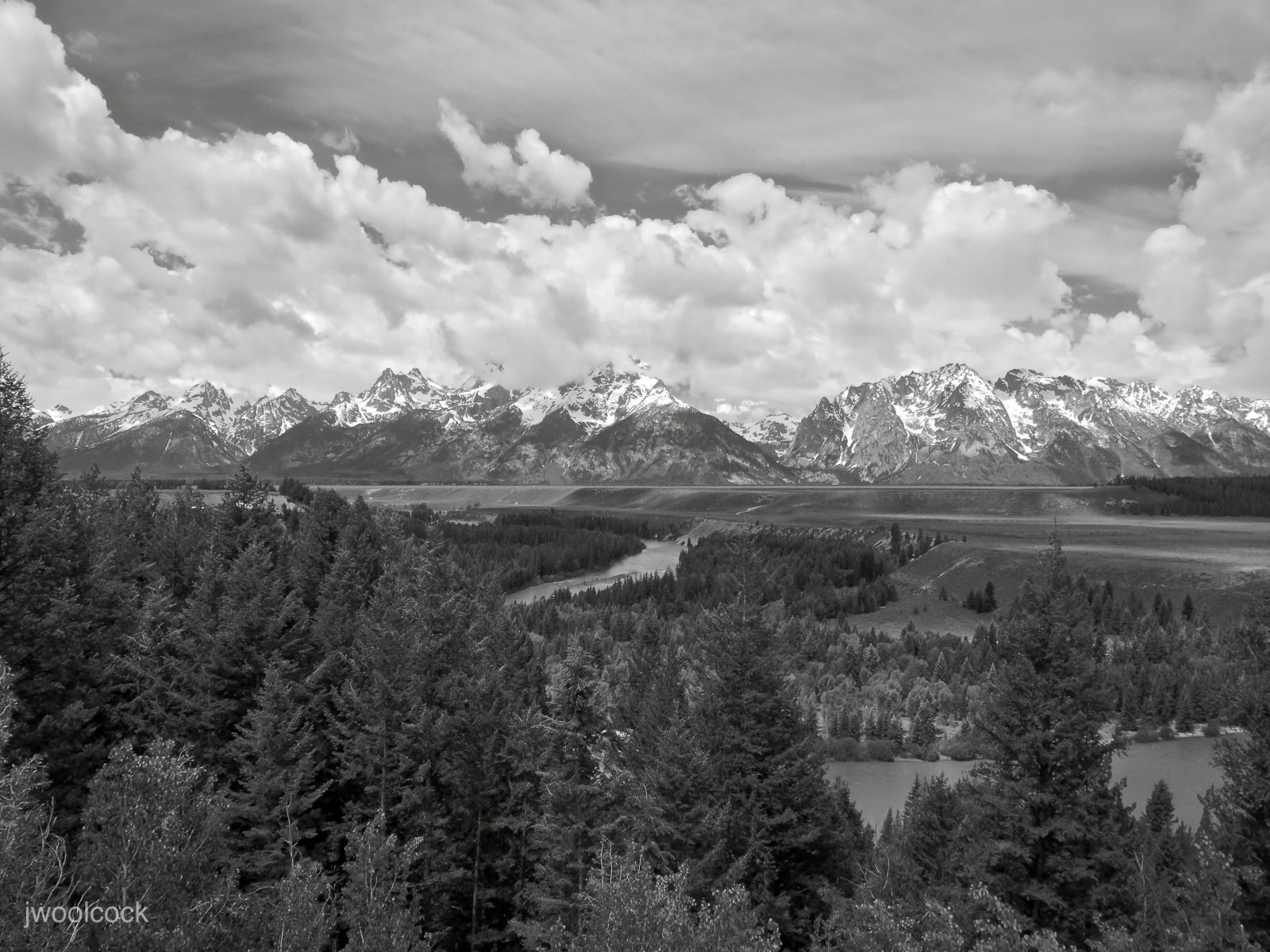 Snake River Overlook/Ode to Ansel