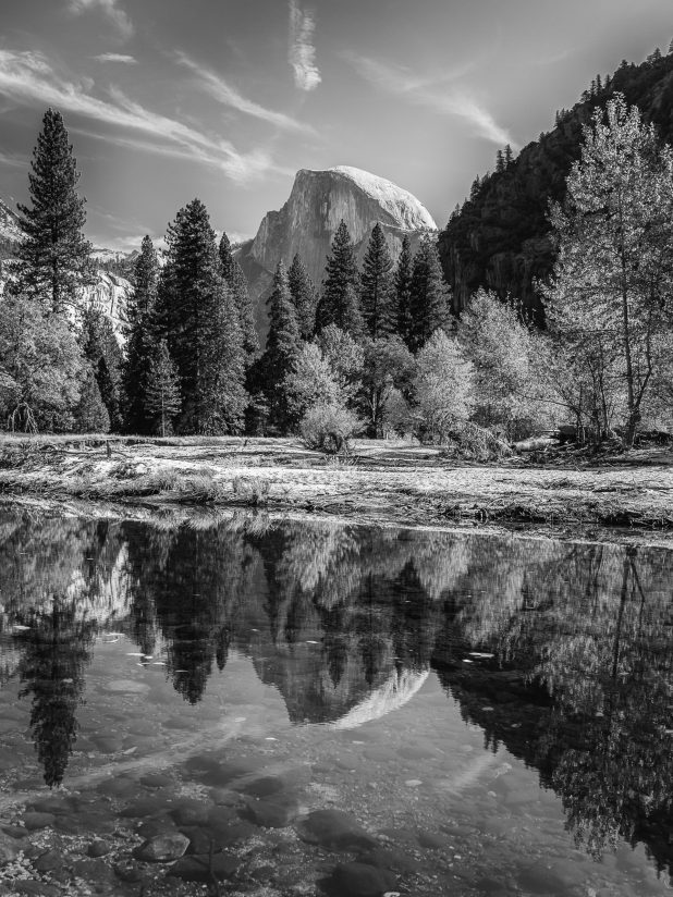 Yosemite Fall Colorless