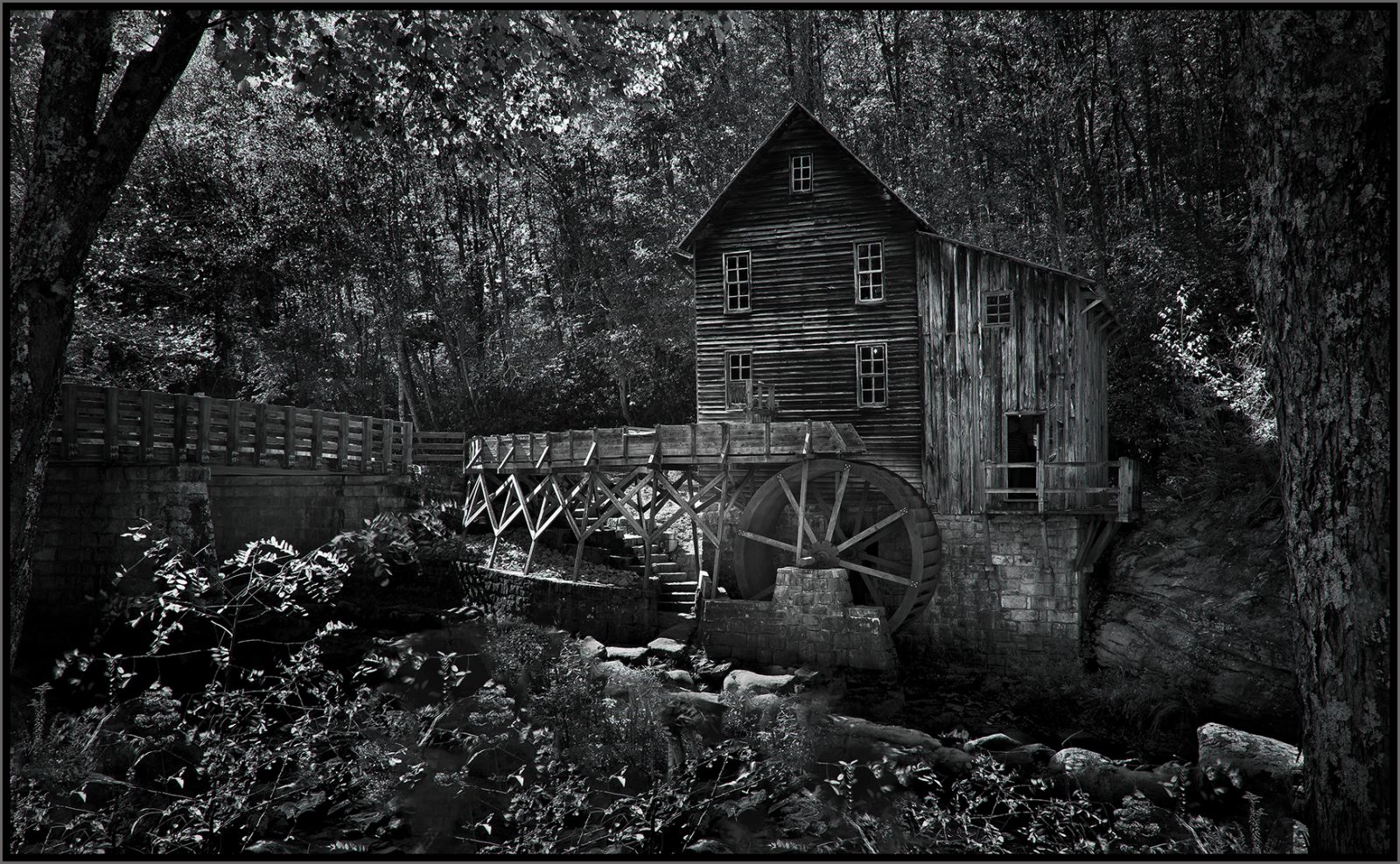 Glade Creek Grist Mill #3