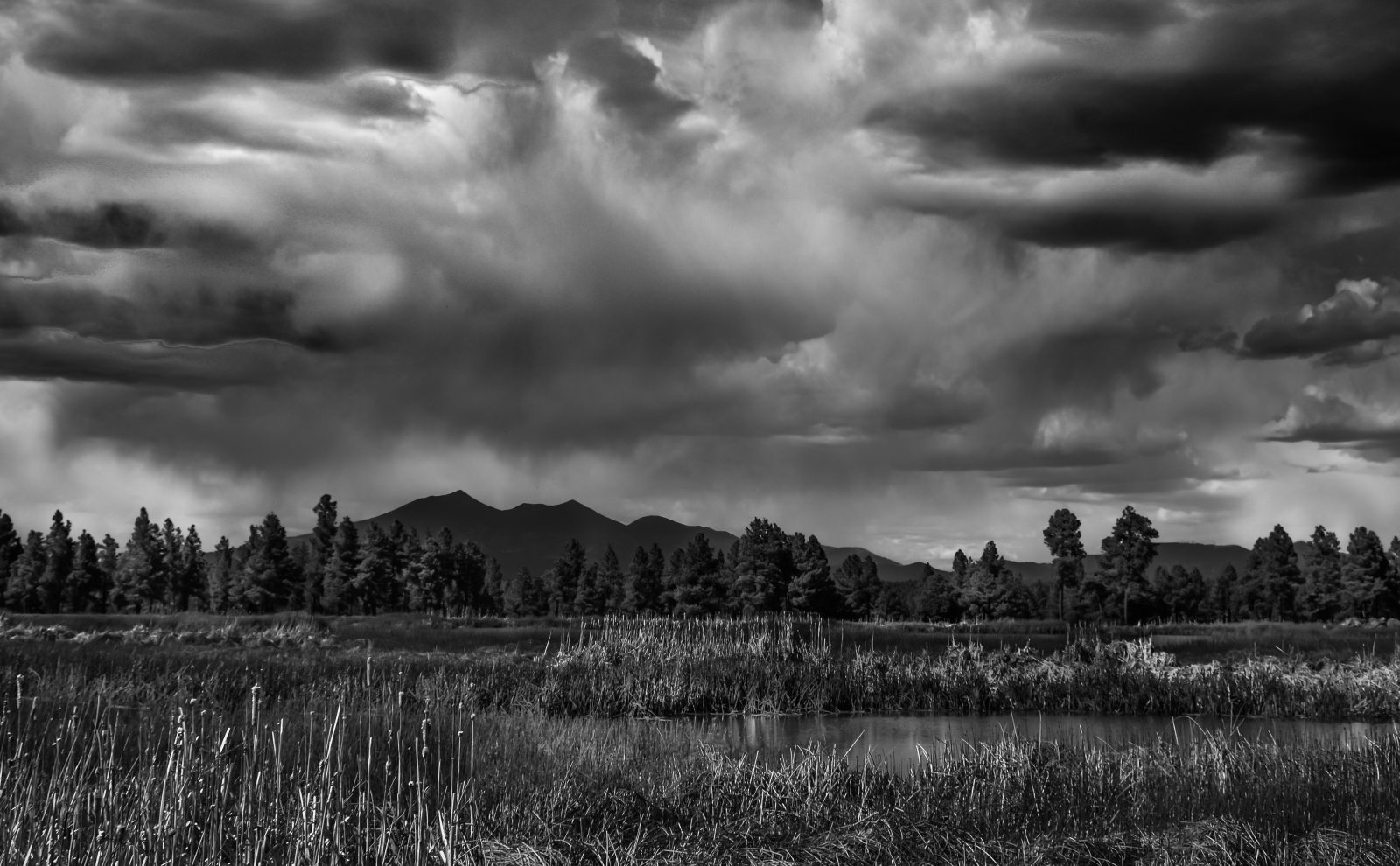 The Beauty of Clouds in Monochrome