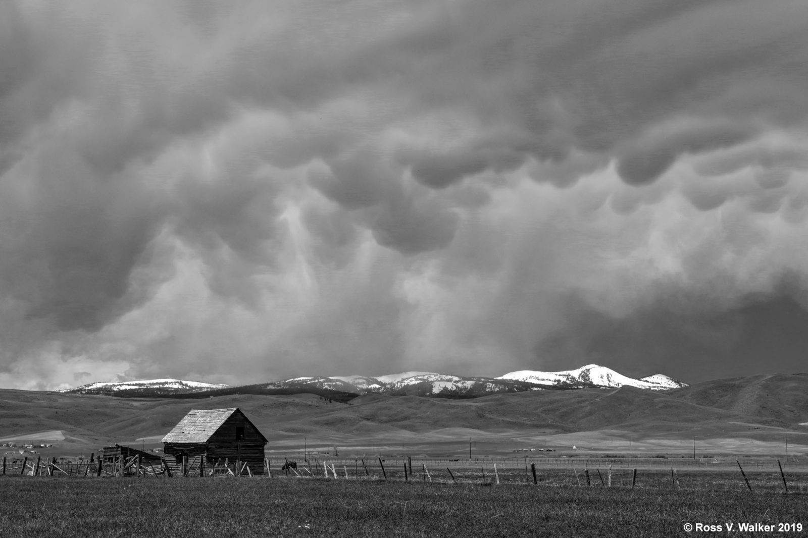 Bear Lake Valley Storm Clouds