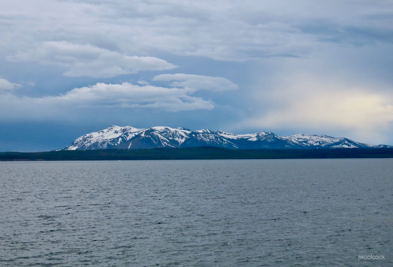 Gathering Storm – Yellowstone Lake