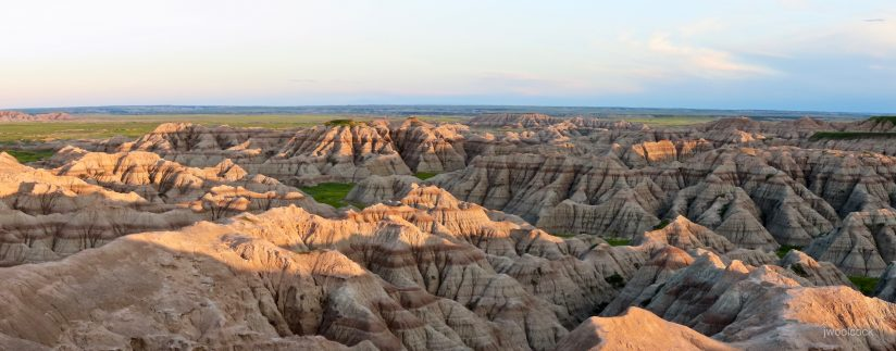 Sunrise on the Badlands