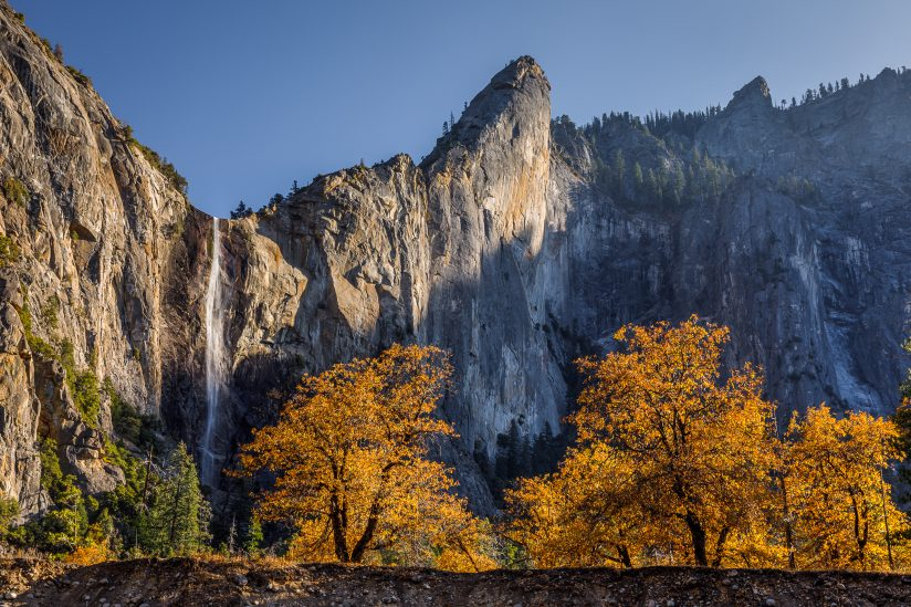 Fall at Bridalveil Fall