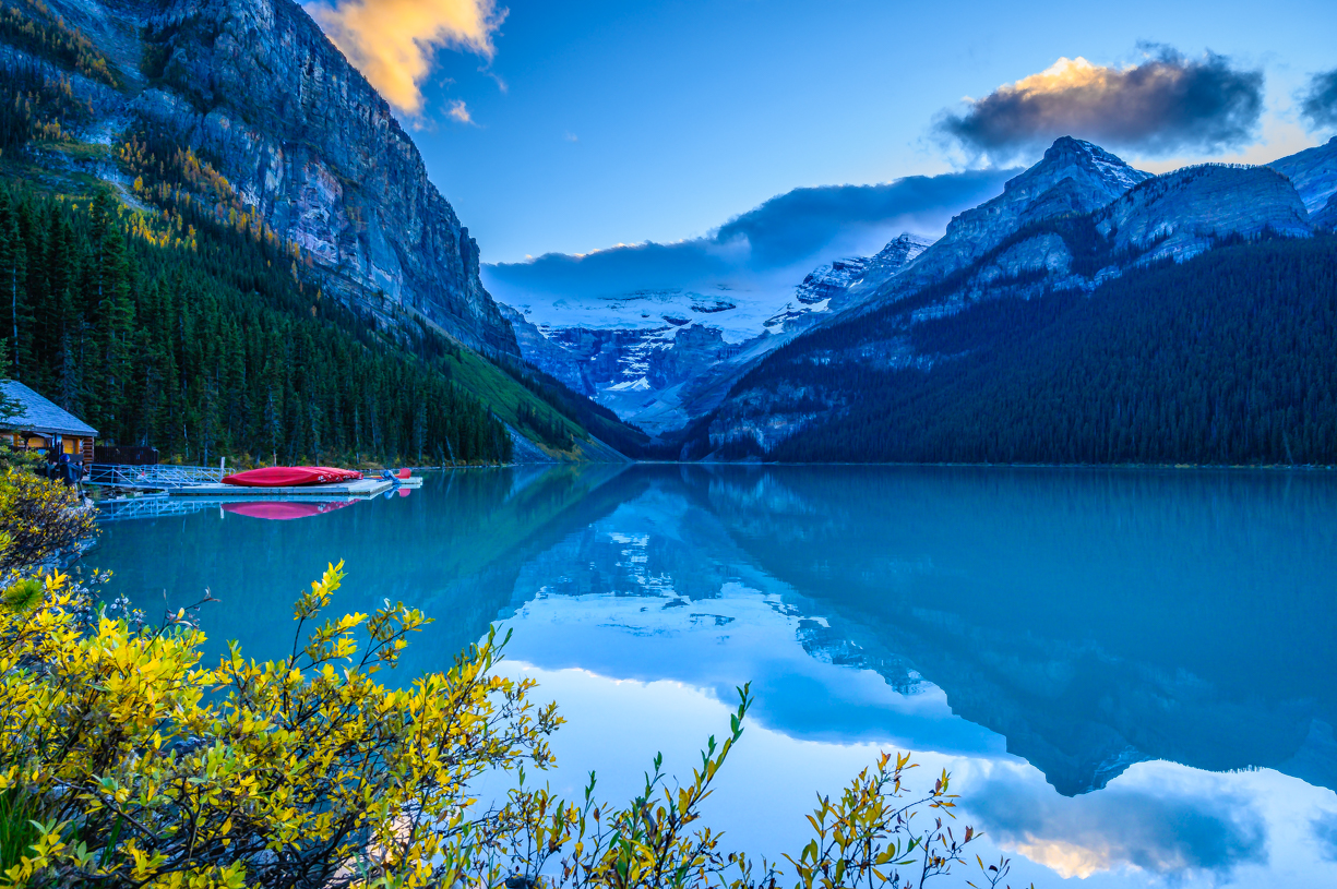 Fall at Lake Louise