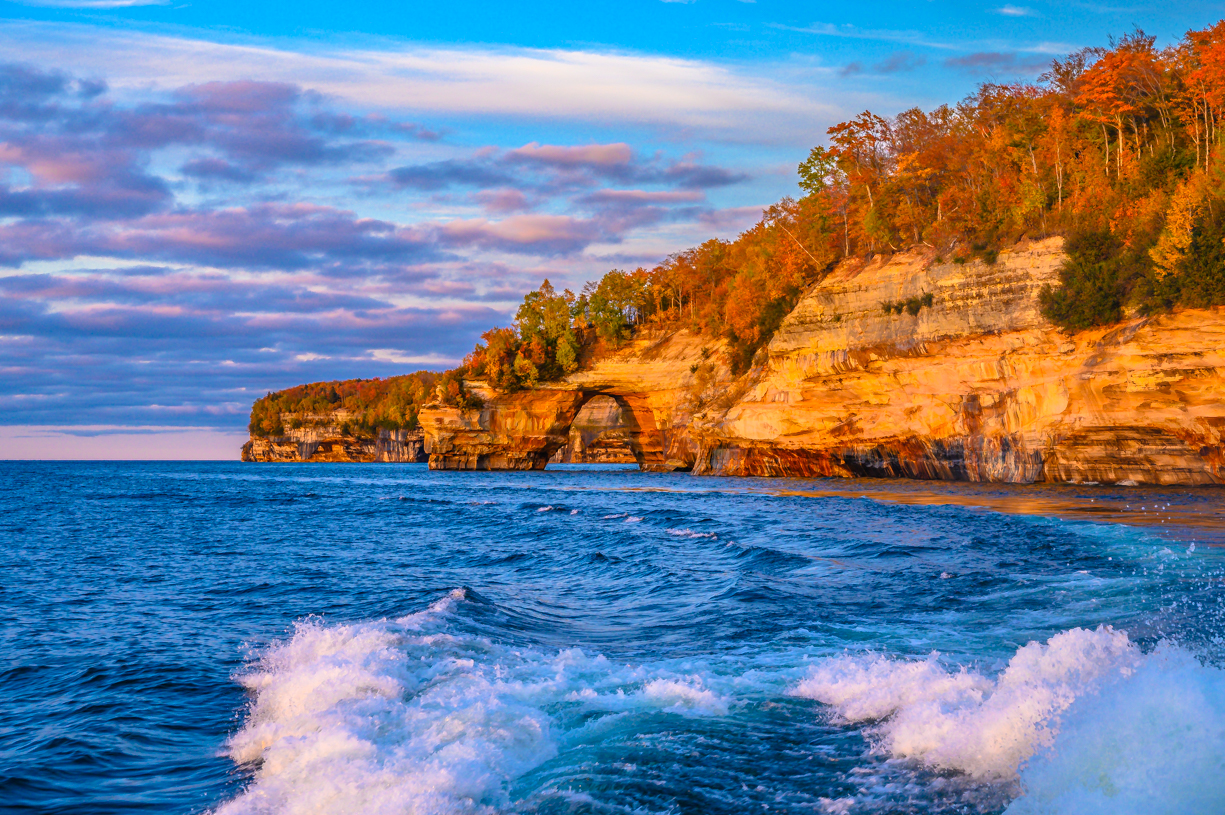 Sunset on Pictured Rocks Lakeshore