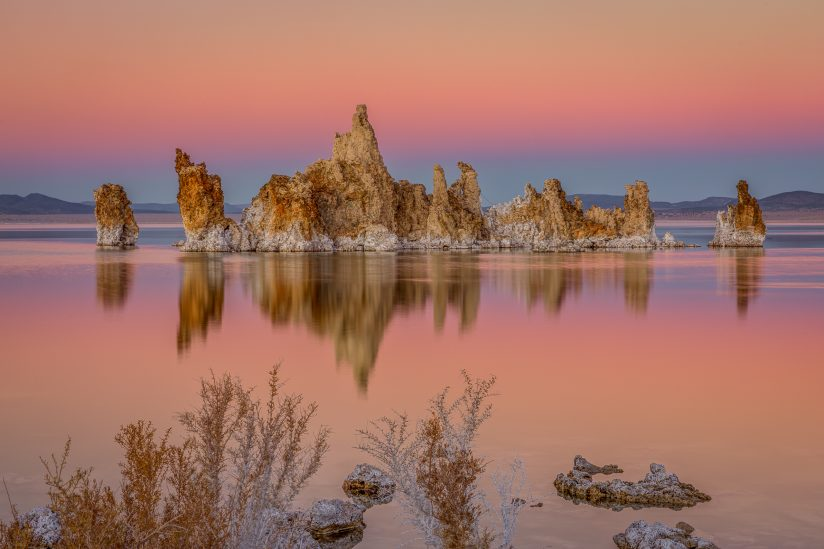 Tufa Island Reflection