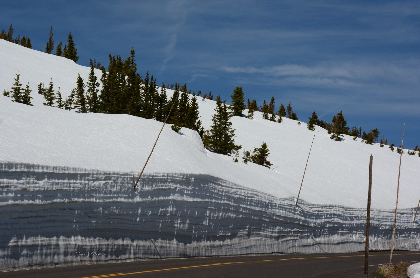 Trail Ridge Road In The SPring