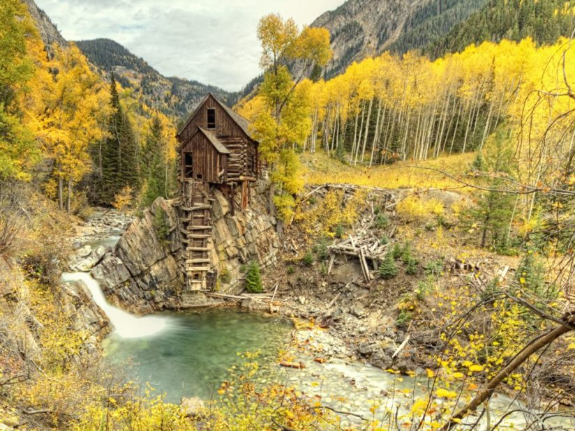 Fall at the Crystal Mill