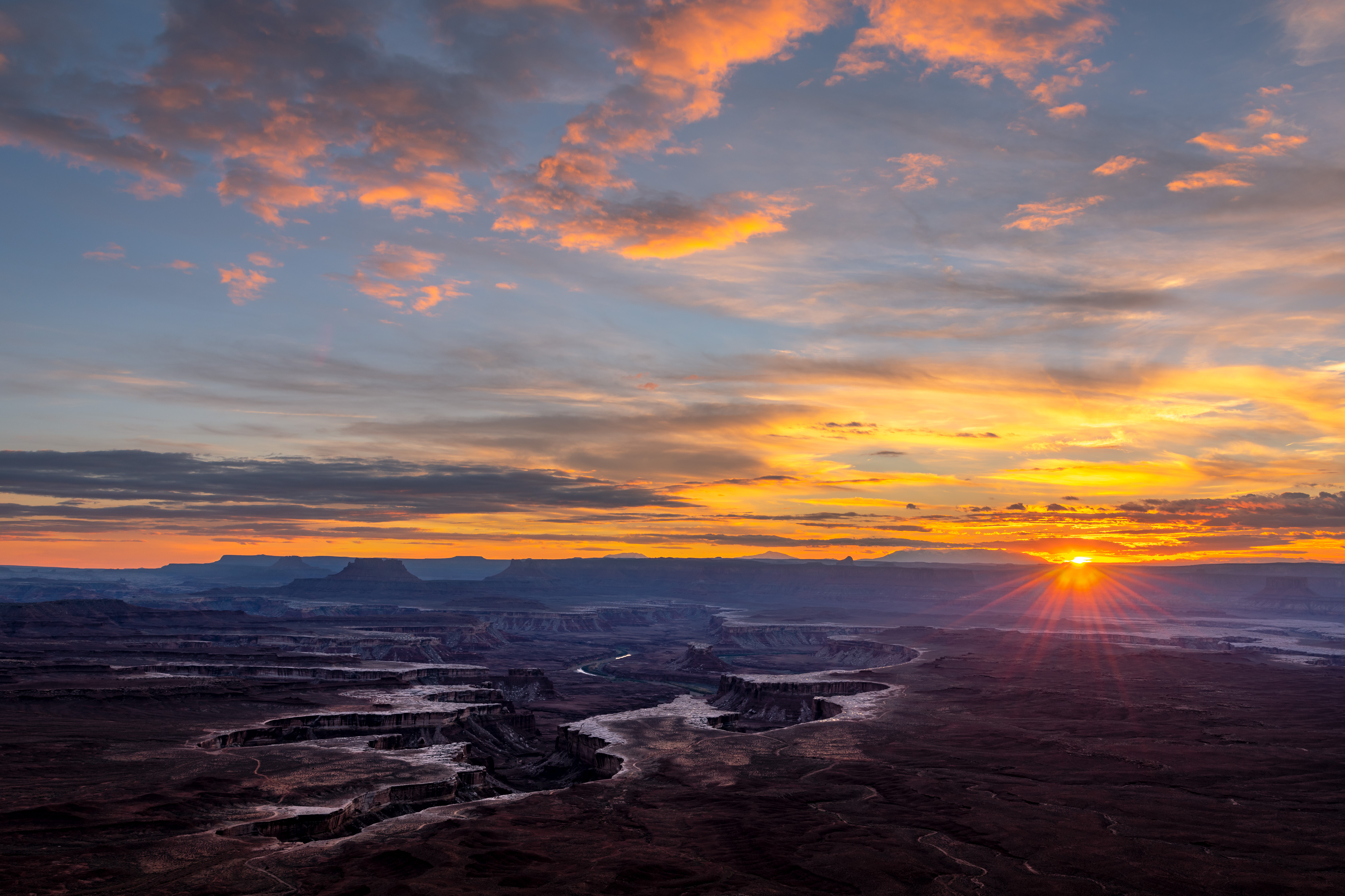 Green River Overlook at Sunset