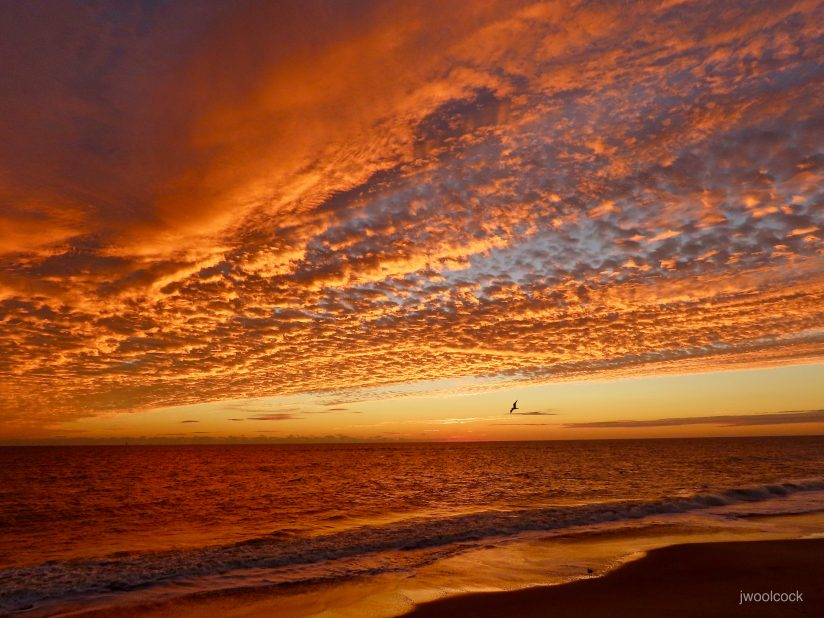 Red Dawn on the Atlantic