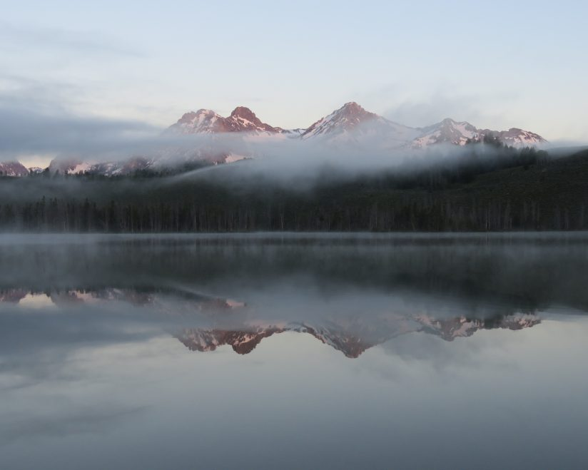 Foggy Sawtooth