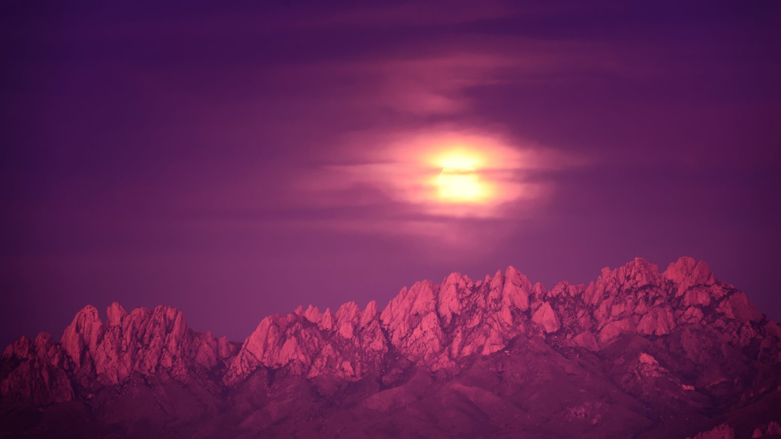 Organ Mountain Moonrise