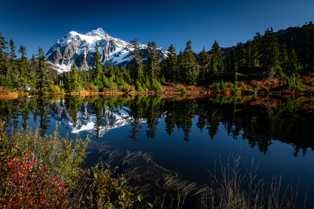 Mirror Reflections of Mt. Shuksan